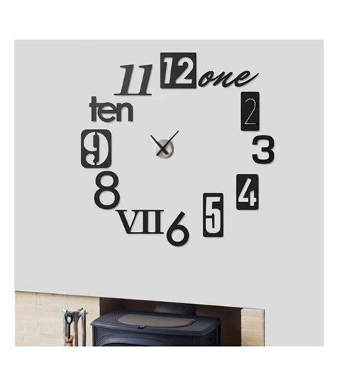 horloge murale cuisine design pendule cuisine design diy design moderne numrique 3d
