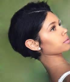 2017 Girl Short Black Hairstyles