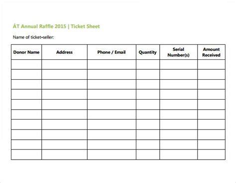 event ticket sales spreadsheet template