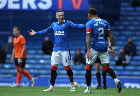 Rangers Player Ratings Vs Dundee United: Kent And Davis ...