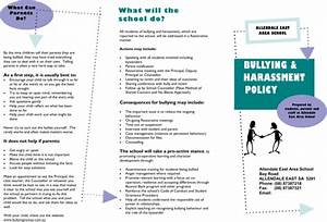 Anti Discrimination Policy Template Download Bullying Brochure Template For Free FormTemplate