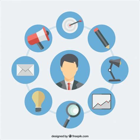 Seo Consultant - seo consultant concept vector free