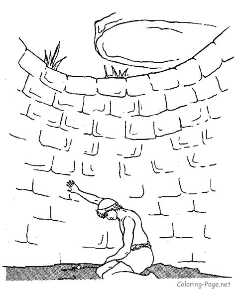 joseph   brothers coloring page coloring home