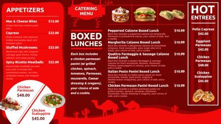 digital menu board templates restaurant digital signage menu board design from dsmenu
