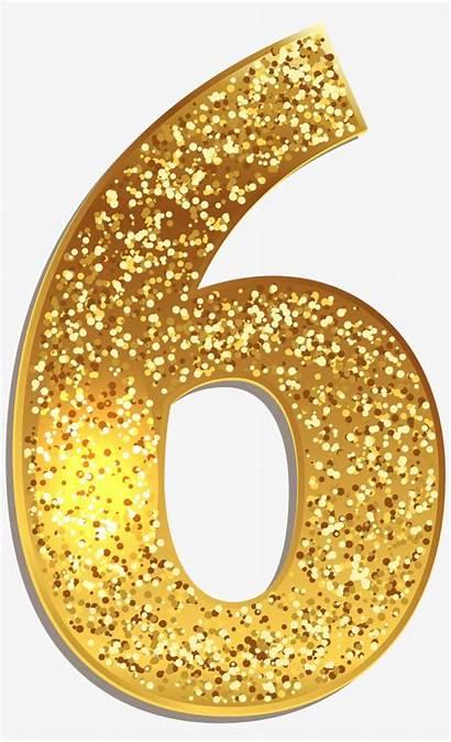 Glitter Gold Number Clipart Pikpng Transparent Nicepng