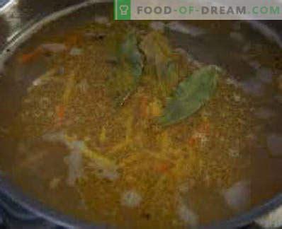 Svaigi saldētas makreles zupa, receptes ar fotogrāfijām ...