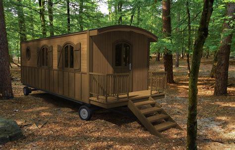 caravane cuisine roulottes en bois