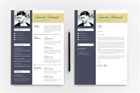 Resume Template Smith by Smith Roland Resume Template 74858