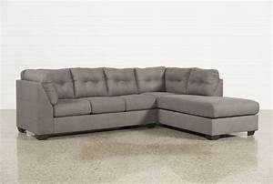 Sectional sofa with 2 chaises poundex f7139 waffle 2 for Xena chaise 2 piece sectional sofa