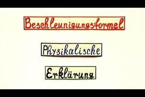 Aufprallenergie Berechnen : video beschleunigungsformel eine physikalische erkl rung ~ Themetempest.com Abrechnung
