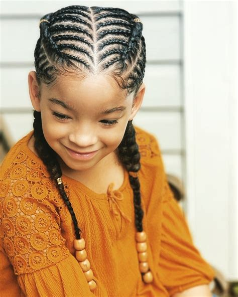 kid cornrows kid hairstyles braidsbyteshia instagram