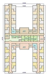 home layout w a benbow dementia design h shape facility layout