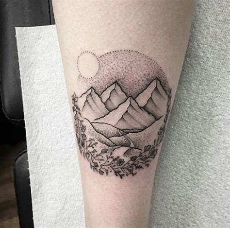 interesting mountain tattoos ideas  designs