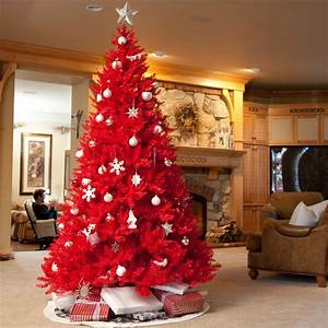 Red Christmas tree | Red VI | Pinterest
