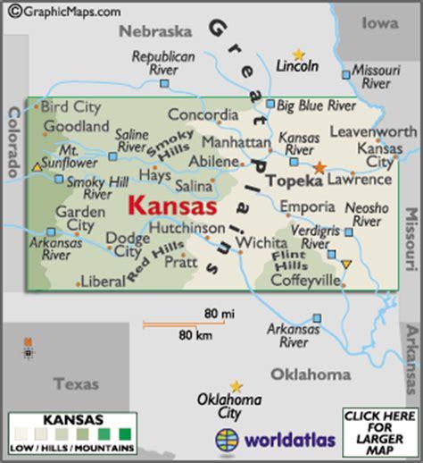 C Dodge Map by Kansas Map Geography Of Kansas Map Of Kansas