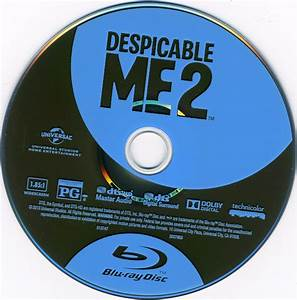 Despicable Me 2 Blu-Ray Cover & Label | Dvd Covers and Labels