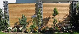 Gartenzaun Sichtschutz Holz : sichtschutz im garten g rten armin hollenstein ~ Markanthonyermac.com Haus und Dekorationen