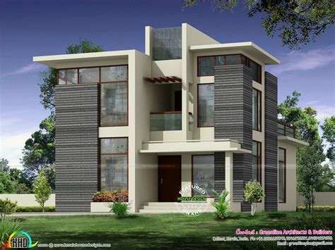 Kerala Home Design And Floor Plans 2236 Sqft Modern