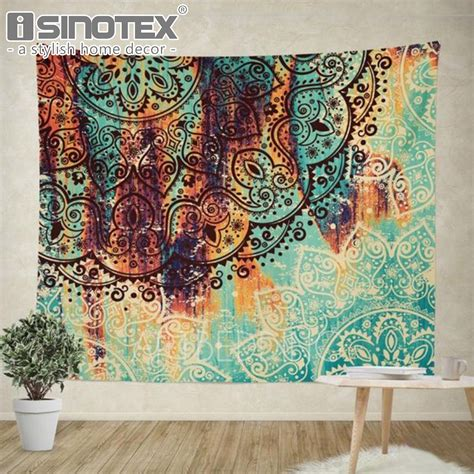 It also features rose gold foil accents. Aliexpress.com : Buy Bohemian Wall Decor Hippie Tapestries Boho Mandala Tapestry Gypsy Wall ...