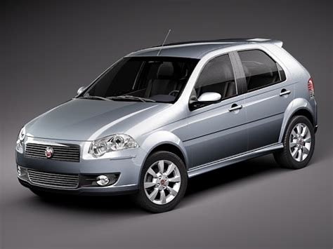 Fiat New Models by Fiat New Palio 5door 2009 3d Model Max 3ds Cgtrader
