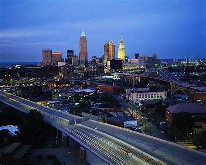 Cleveland Cuyahoga County Skyline Wallpapers Land Bank
