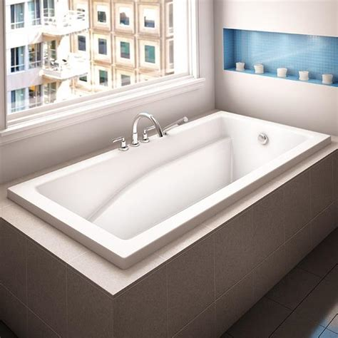 alcove bathtub caprice podium canaroma bath tile