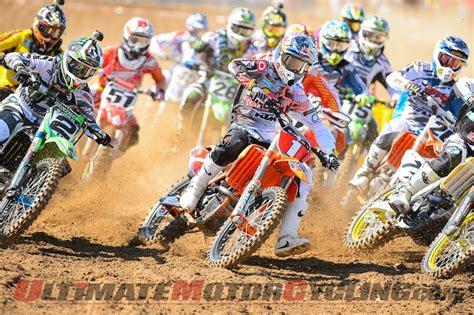 ama motocross schedule