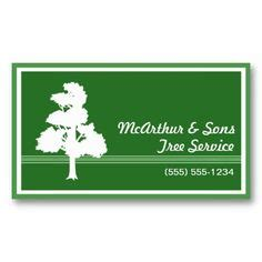 tree service business cards images business