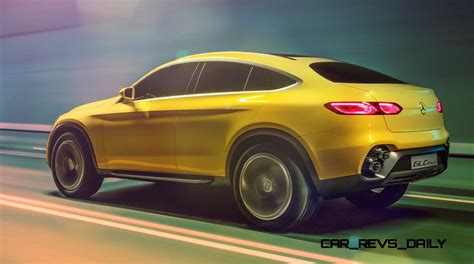 2018 Mercedes Benz Glc Coupe Concept