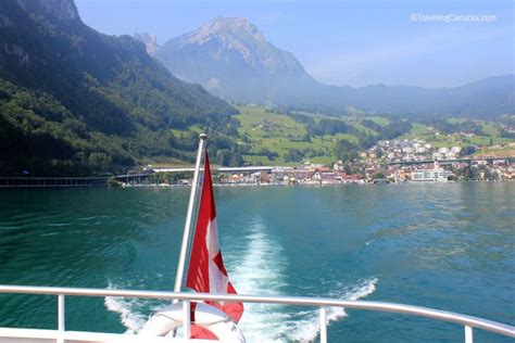 Hergiswil To Lucerne By Boat by From Our Lens Cruising Around Lake Lucerne Switzerland