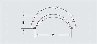 Concave Notched Discs Blades Edge Disc Concavity