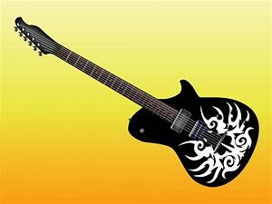 Electric Guitar Design Vector Art & Graphics | freevector.com