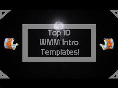 Top Ten Best Intro Templates by 5 Free Intro Templates For Windows Movie Maker Doovi