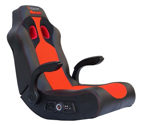 Rocker Gaming Chair by X Rocker Monza Gaming Chair Gaming Chair Boys Stuff
