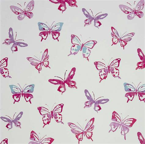 papier peint papillons enfants papiers peints le