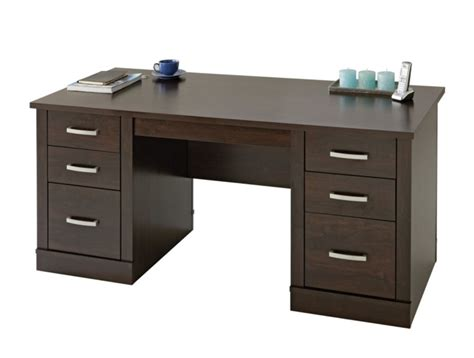desk with drawers on both sides modern executive desks office furniture