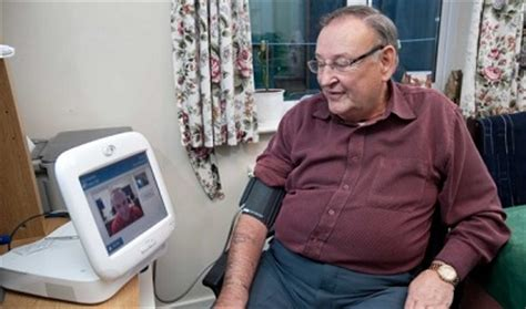 report   patients finds    home monitoring