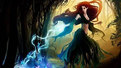 Witch Fantasy Fondo Pantalla Abyss 1080 Alphacoders