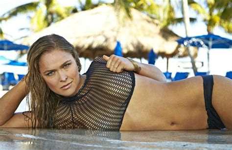Ronda Rousey To Appear In Sports Illustrated In Body Paint