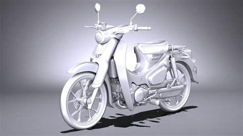 Honda Cub C125 Image by Honda Cub C125 2019