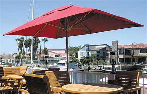 outdoor umbrella rectangular popular home decorating