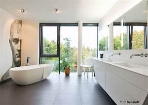 Badezimmer Mit Freistehender Badewanne : freistehende badewannen von badeloft gmbh homify ~ Bigdaddyawards.com Haus und Dekorationen