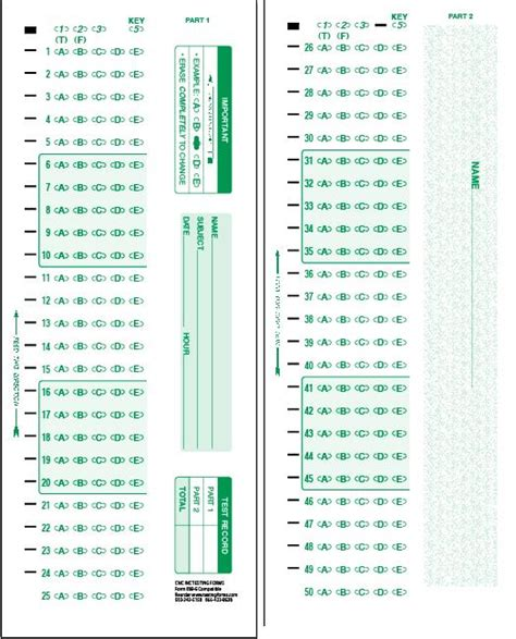 pin  scantron sheets  pinterest