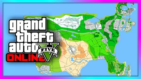 Gta Map Featuring Vice City