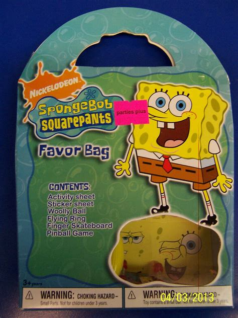 spongebob squarepants nick jr tv birthday 675 | s l1000