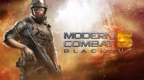 modern combat 5 blackout v1 5 0i apk data rialsoft software gratis