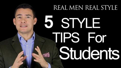 5 Style Tips For College Student