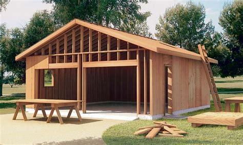 build garage plan plan