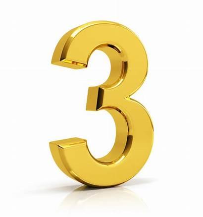 Number Gold Premium 3d Numbers Vectors Clipart