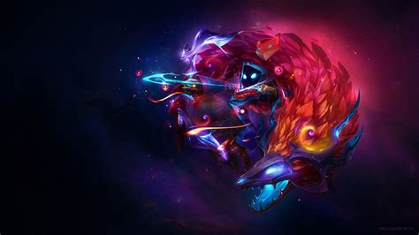kindred league  legends video games wallpapers hd